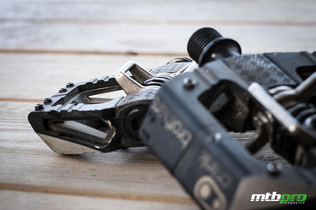 Crank Brothers Mallet E, pedales de referencia para la práctica del Enduro.