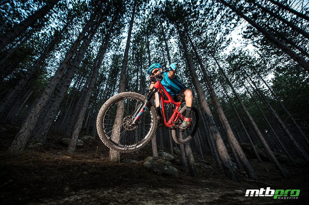 Ibis Mojo 3 representa a la perfección el espíritu trail