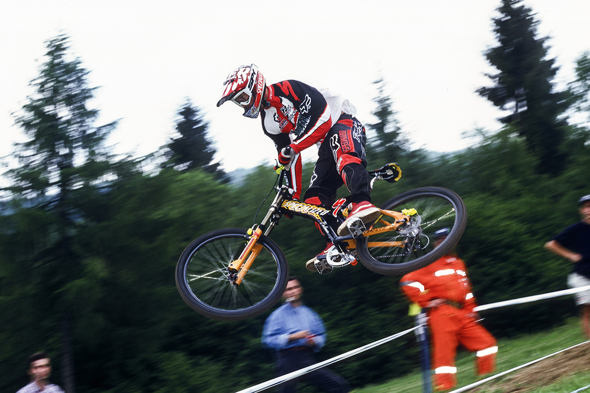 Shaun Palmer con el Specialized-Mountain Dew