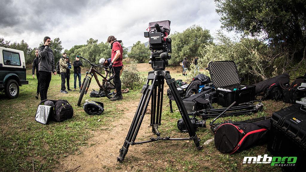 Rodaje de NotTwoBad, en Mijas, de Anthill Films