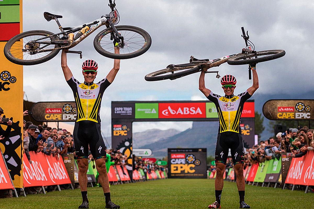 Las bicis de la Absa Cape Epic