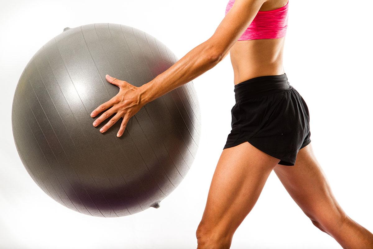 Entrenamiento con Fitball para mejorar en MTB