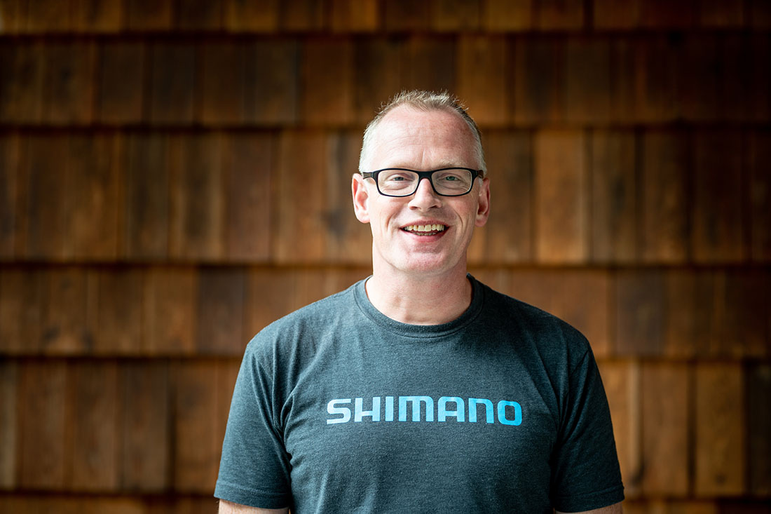 Henry Bosch (Product Coordinator Shimano Europe)