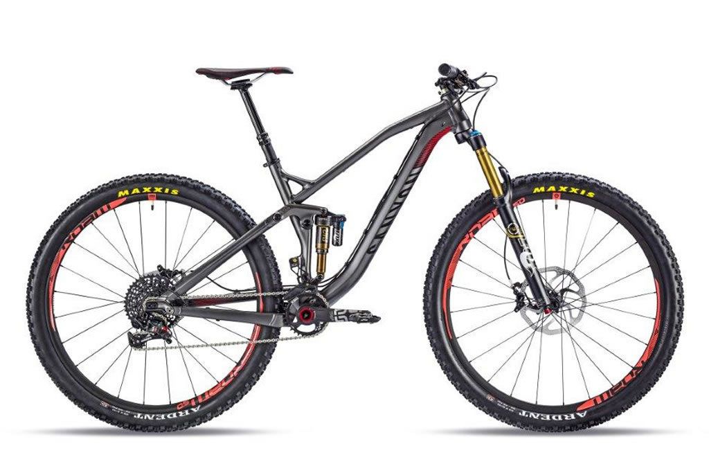 Canyon Spectral Al 9.9 EX 2014