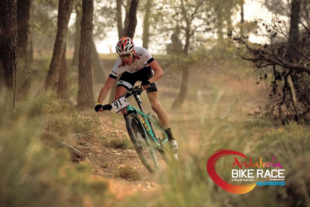 José Antonio Hermida se estrena en la Andalucía Bike Race