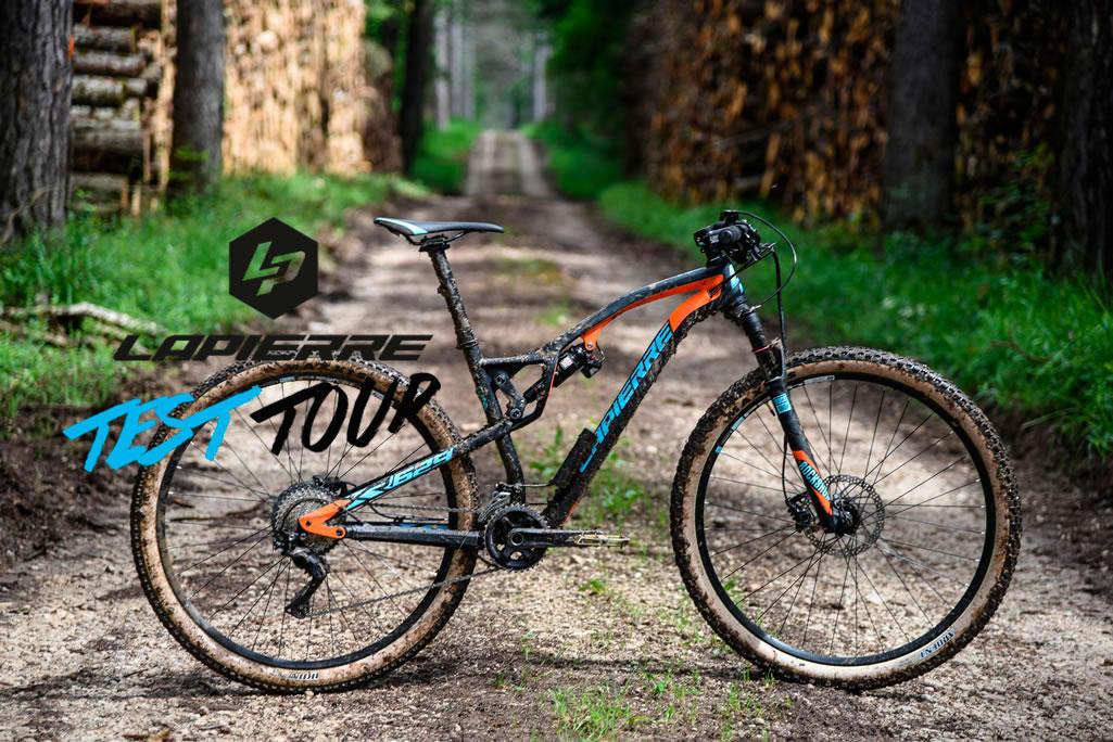 Lapierre Test Tour, tres fechas en España