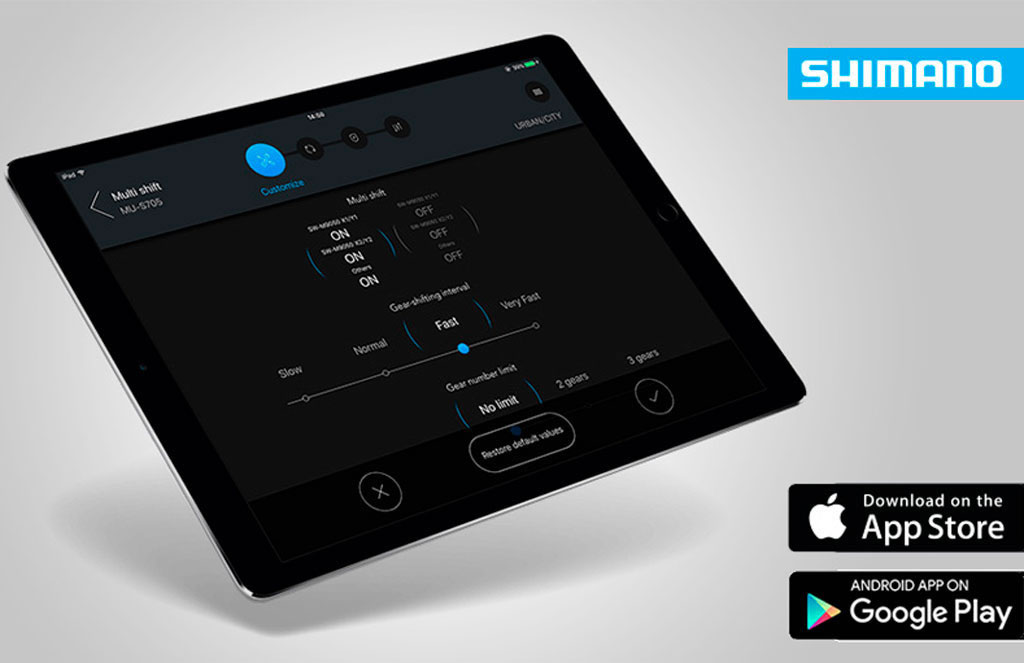 E-Tube de Shimano ya es compatible con dispositivos Android