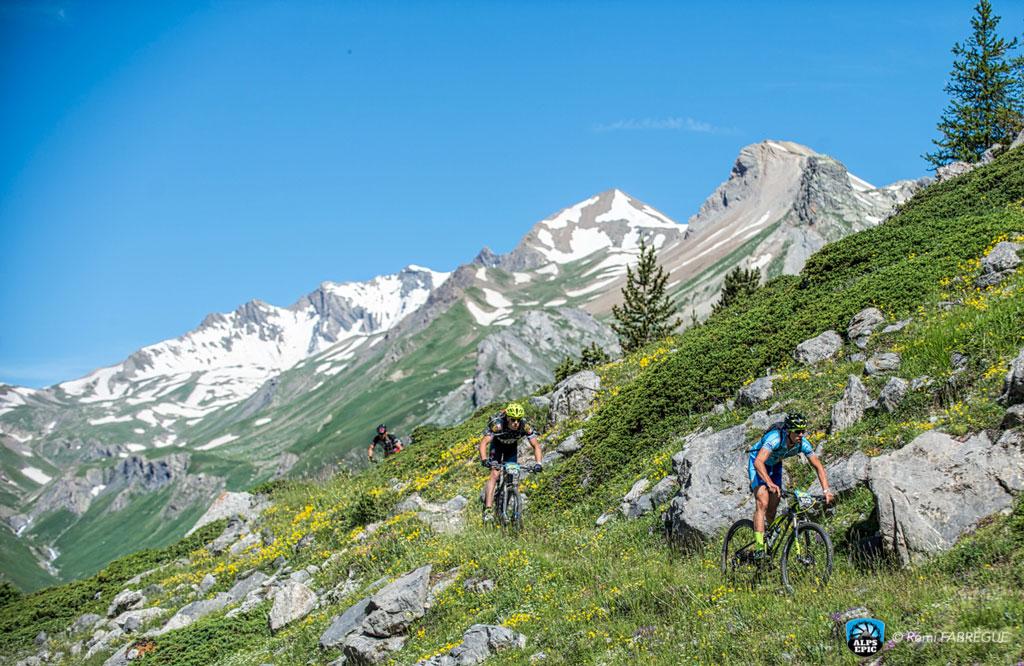 Alps Epic tiene un recorrido por los senderos más espectaculare de los Alpes
