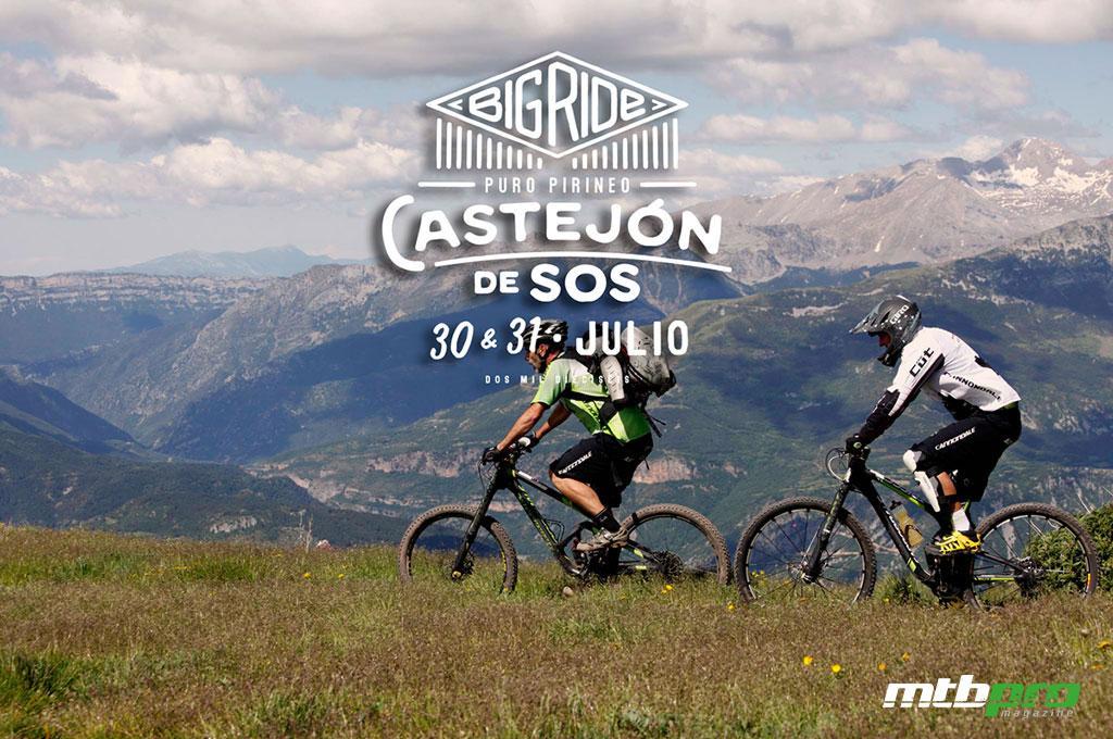 Big Ride Puro Pirineo es la última cita del Open de España de Eduro 2016 que se celebrará en Castejón de Sos