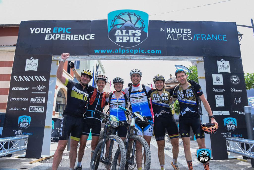 La primera edición de la Alps Epic se ha clausurado el pasado viernes en Gap