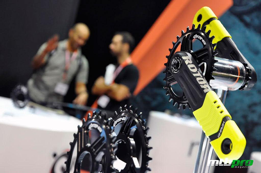 Nuevas bielas Rotor Hawk y Raptor presentadas en Eurobike