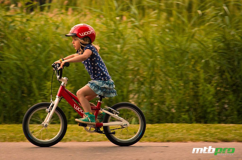 Woom bikes: su primera bici... de verdad.