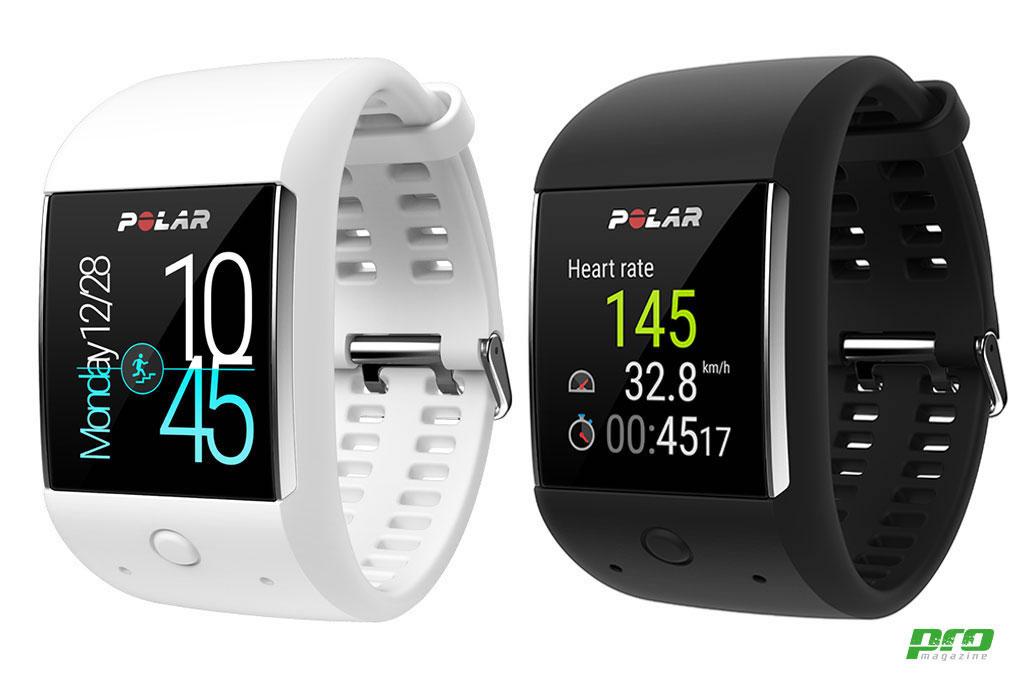 """Polar M600 disponible en dos colores con pantalla táctil a color de 1.3"""""""