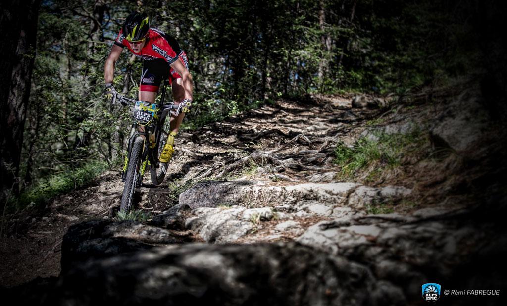 Etapa prólogo de la carrera por etapas Alps Epic 2016