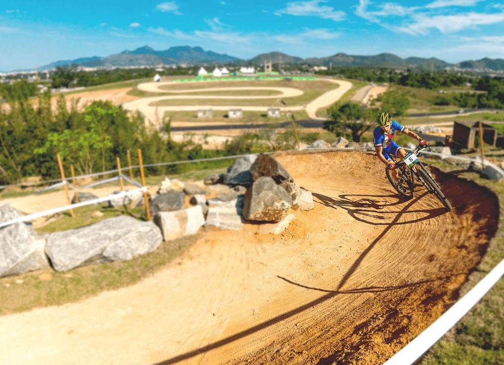 El Centro de MTB de los Juegos Olímpicos de Rio tiene un recorrido de 4850 km