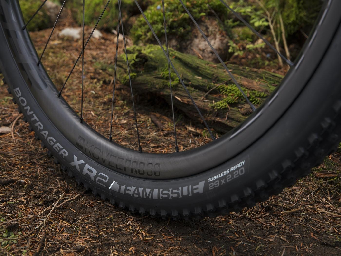 Bontrager Kovee Pro 30: ruedas de carbono para XC con la mejor calidad precio