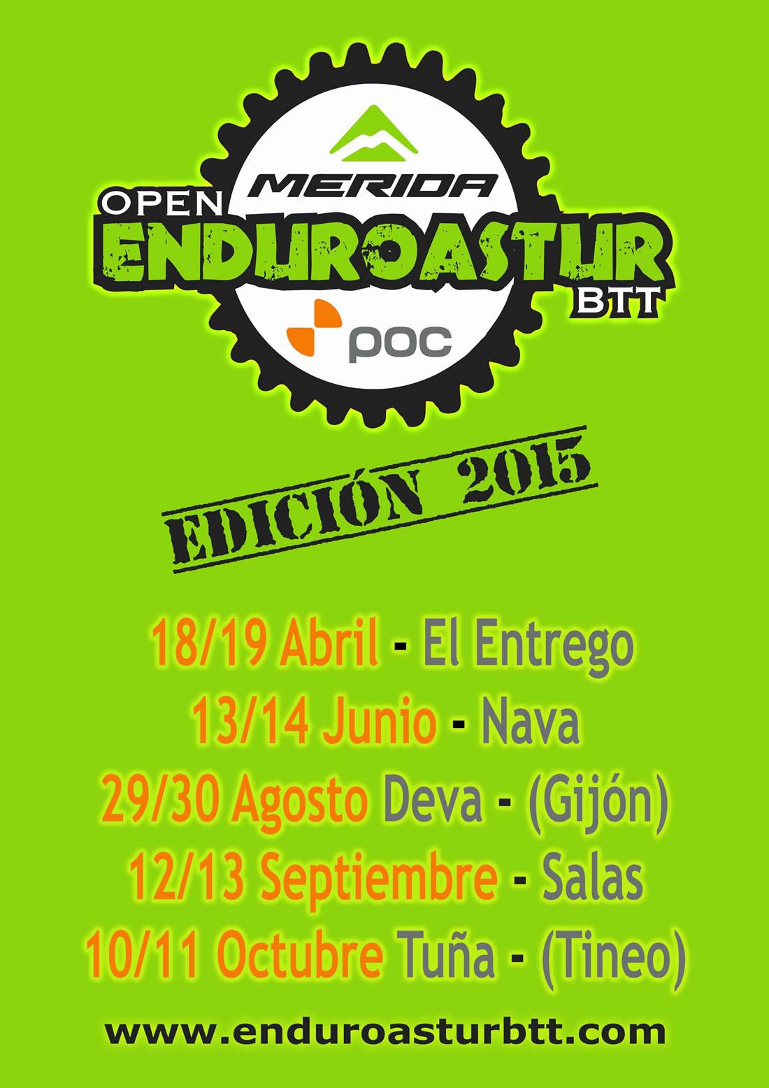 Calendario EnduroAstur 2015