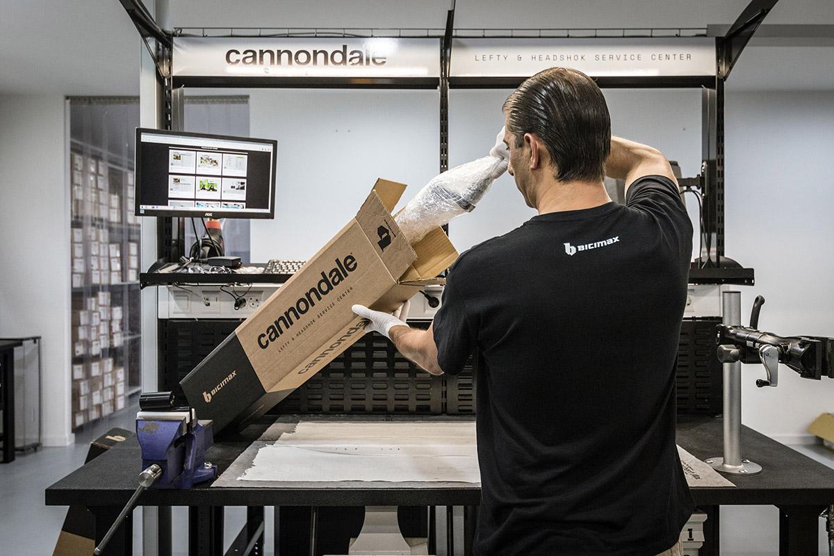 Bicimax es un nuevo servicio técnico de Cannondale Lefty y Headhsok para España y Portugal