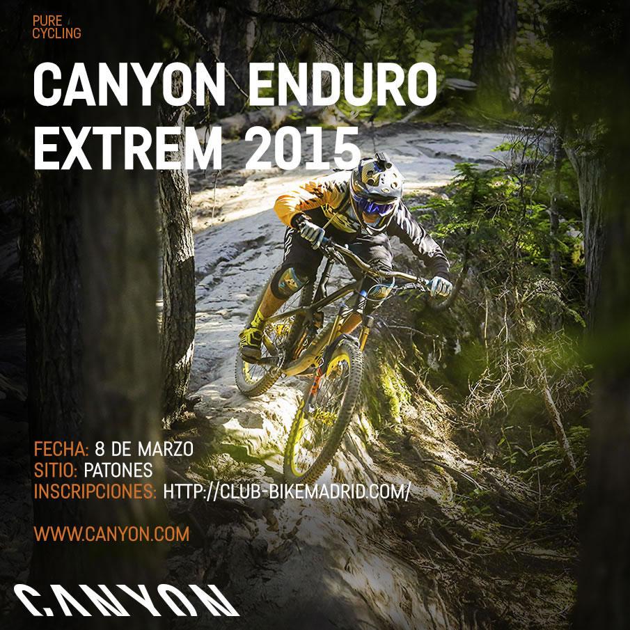Cartel oficial Canyon Enduro Extrem 2015