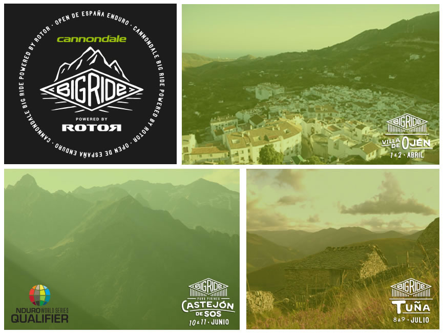 Presentación del Open de España Cannondale Big Ride Powered By Rotor