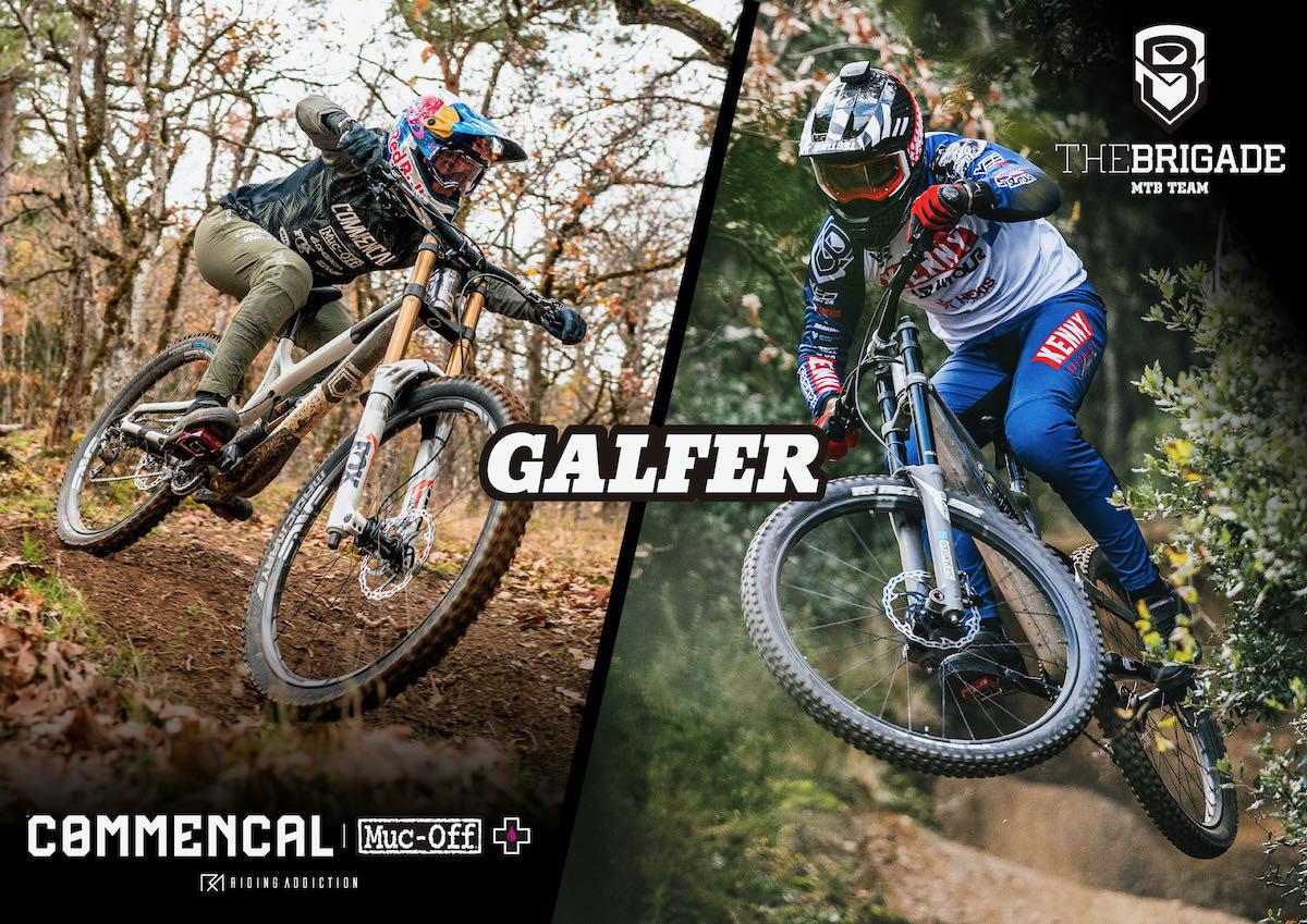 Commençal Riding Addiction y The Brigade utilizarán componentes de freno Galfer Bike