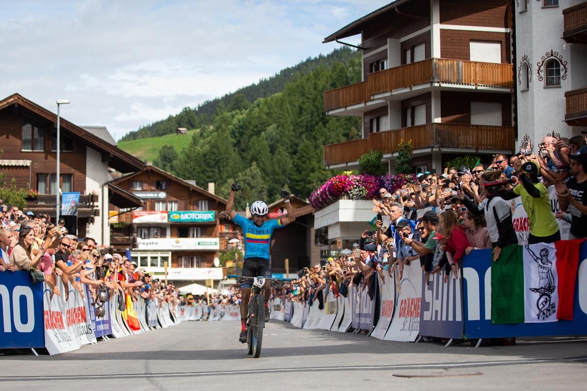 Así es la bici campeona del mundo de XCM