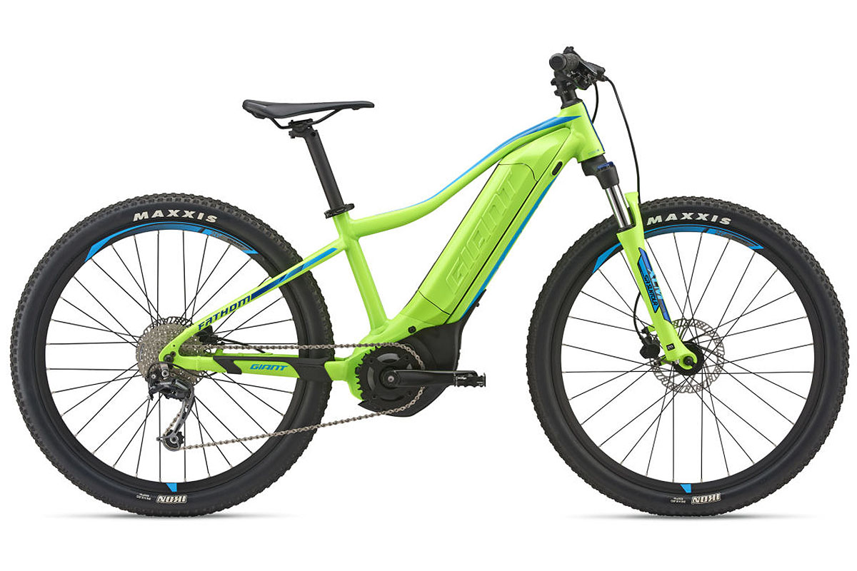 Giant Fathom E + 3 Jr., la e-bike infantil