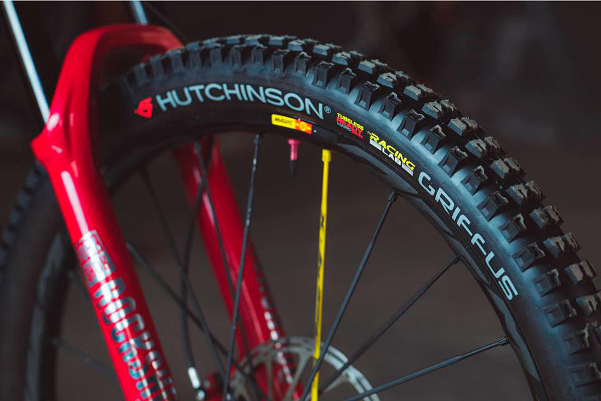 Hutchinson Griffus Racing Lab 2.4 y 2.5 para Enduro