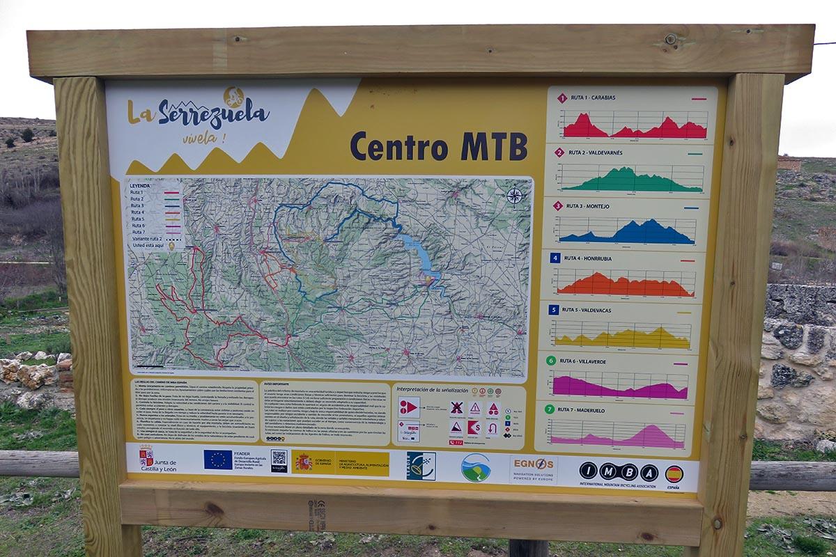Nuevo Centro MTB La Serrezuela en Segovia