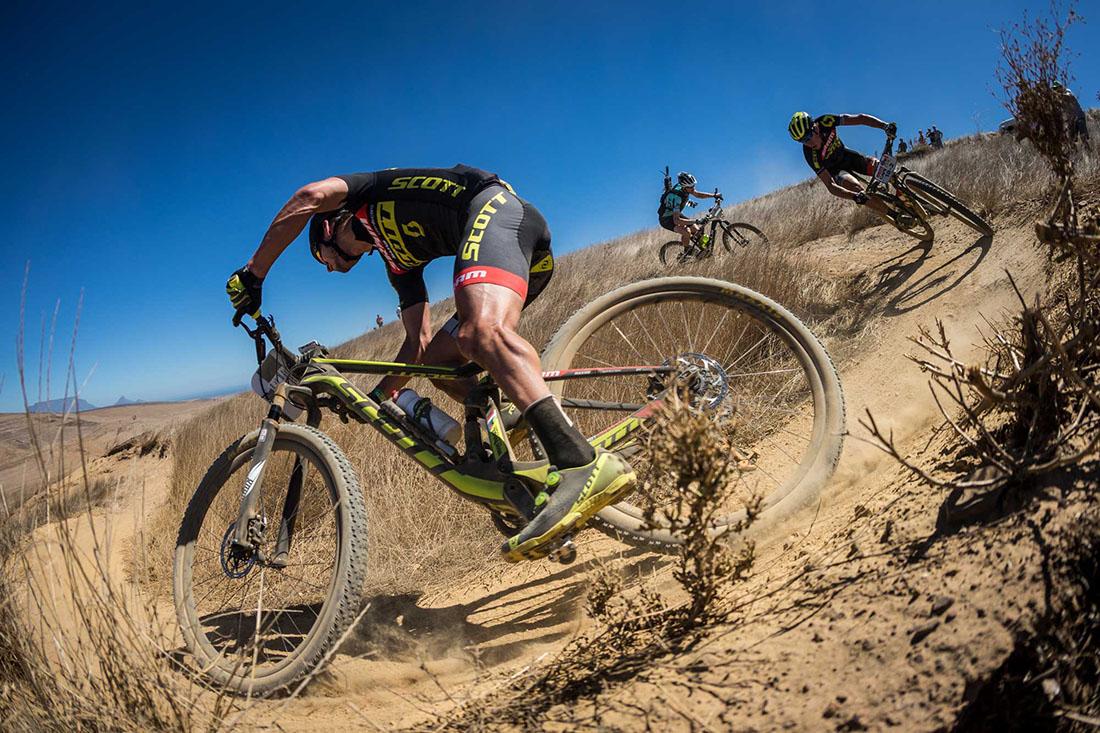Lambea Sport en la Ruta Huerta y Vino del Circuito Scott 7 Estrellas de MTB