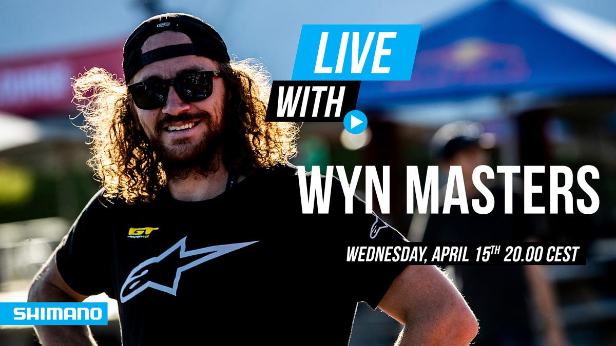Entrevista en directo a Wyn Masters en el Facebook de Shimano