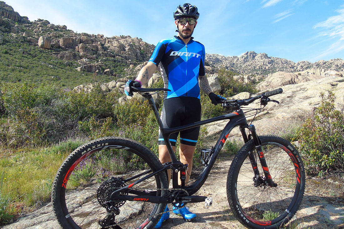 Giant Anthem 29er para La Rioja Bike Race