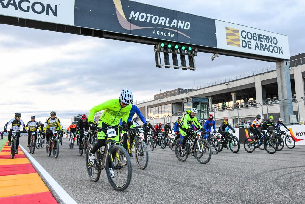La Invernal de Motorland: solidaridad y ciclismo para todos los públicos