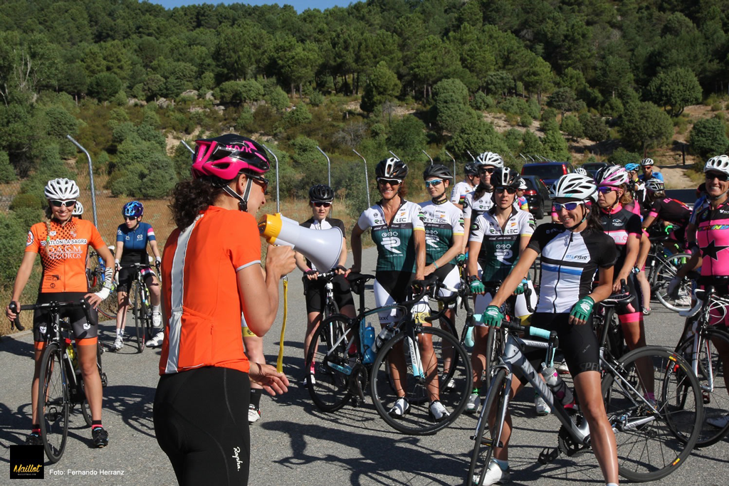 Concentraciones ciclistas por el respeto en carretera.