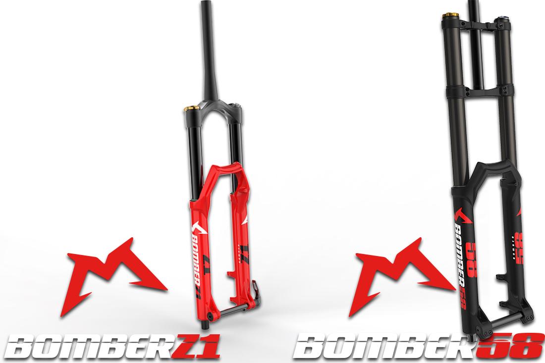Nuevas Marzocchi Bomber Z1 y 58 2019