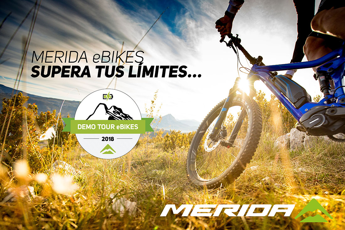 Demo eBikes Tour de Merida
