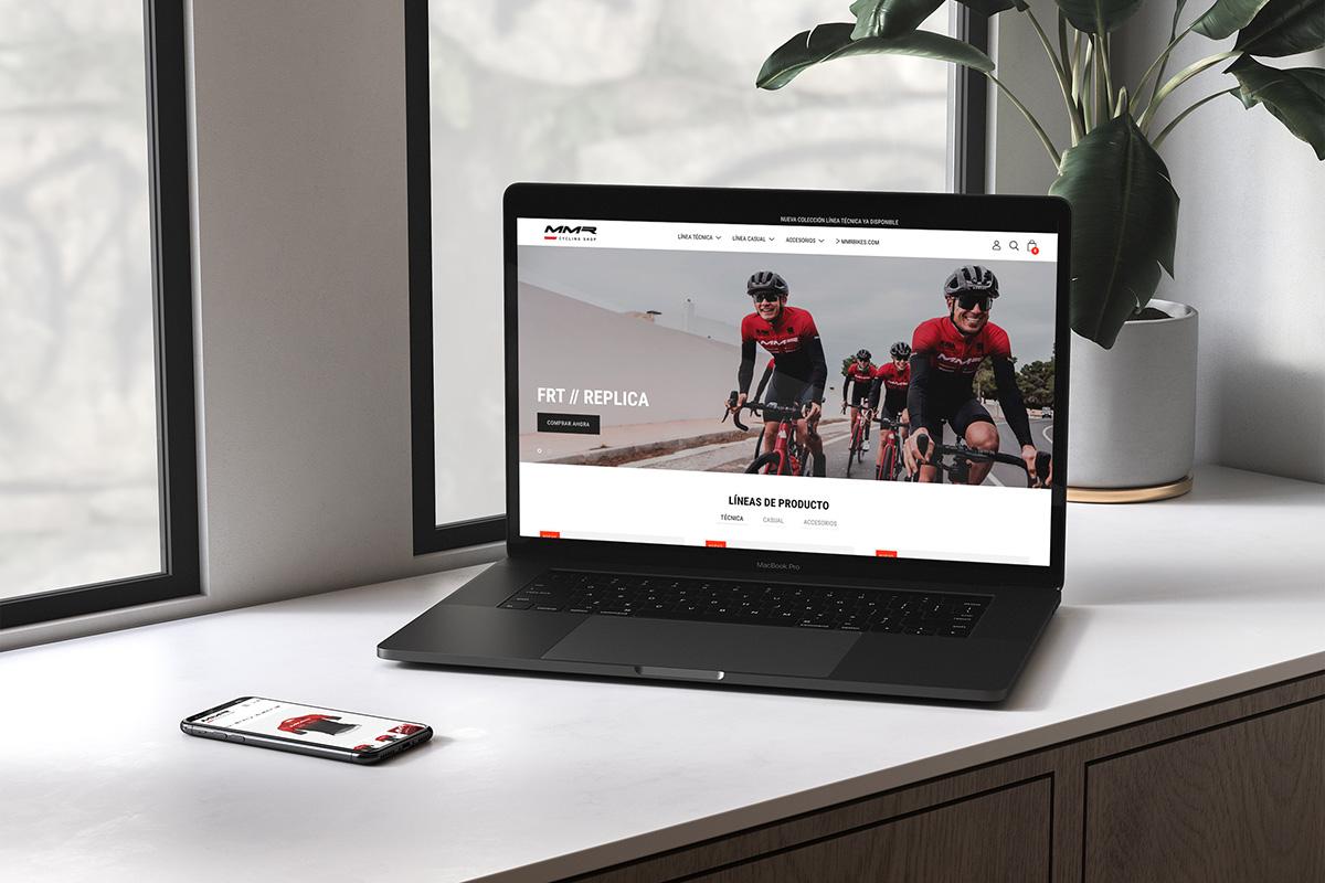 MMR presenta su nueva tienda online de ropa MMR Cycling Shop