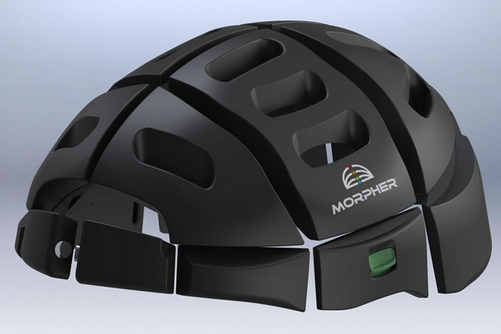 Morpher casco plegable