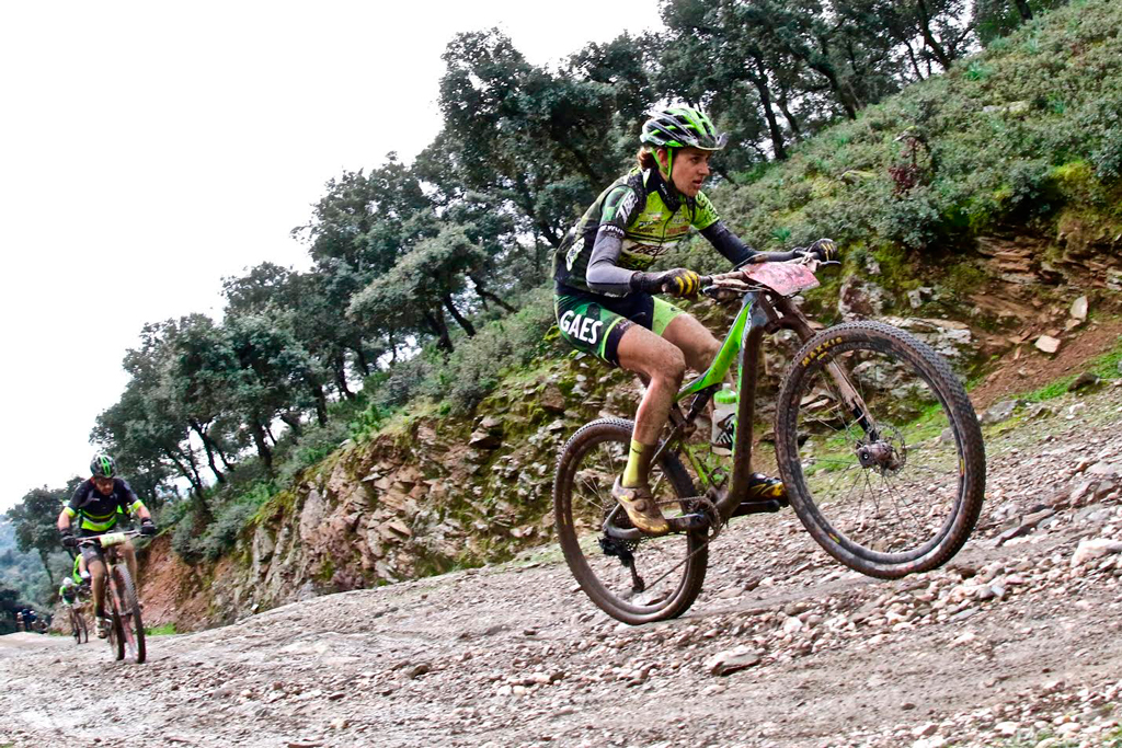 Asalto al podio femenino en la etapa 03 de la Andalucia Bike Race presented by Shimano