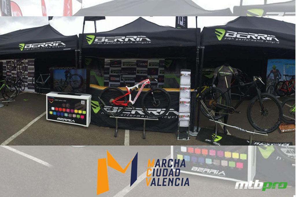 Berria Bike estará presente en la feria de la Marcha Cicloturistaa Ciudad de Valencia