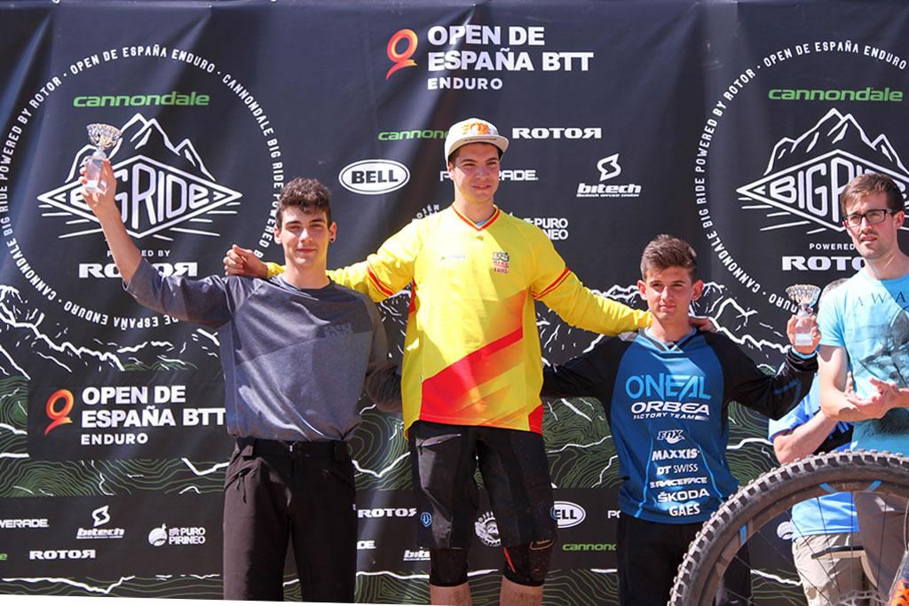 Big Ride Puro Pirineo: Gabi Torralba gana la prueba