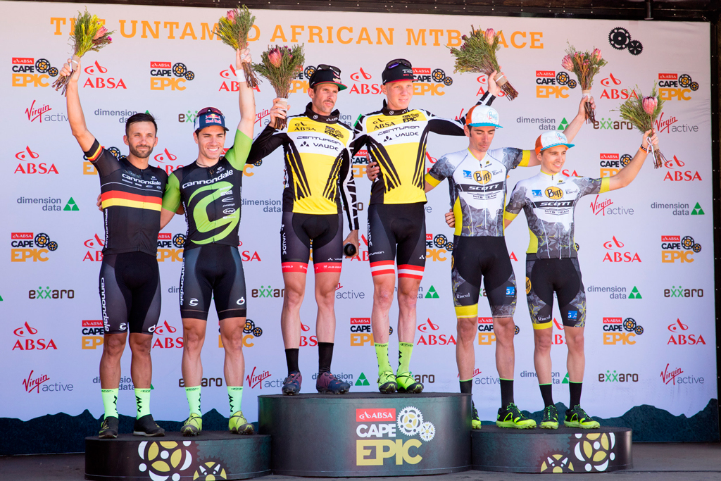 Buff Scott Team: equipo revelación de la Cape Epic