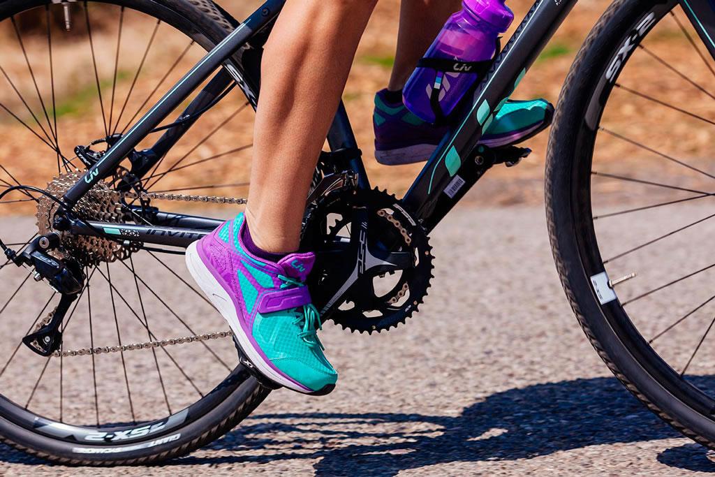 Liv Avida, las zapatillas para empezar con buen pie en el MTB