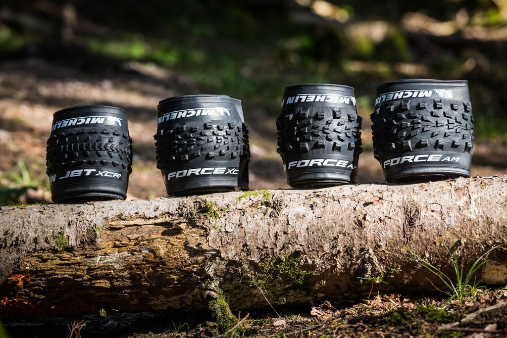 Nueva gama de neumáticos para MTB de Michelin