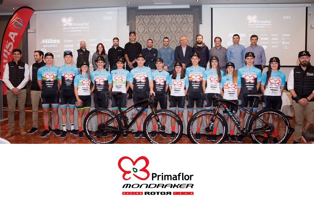 Conoce al equipo Primaflor Mondraker Rotor para la temporada 2018
