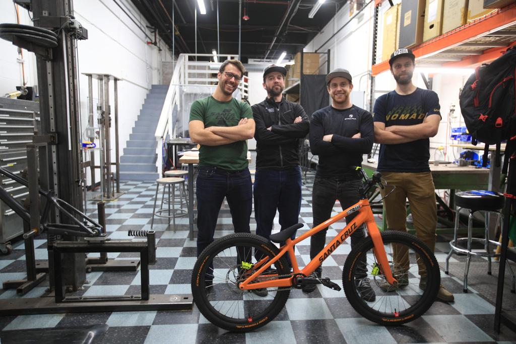 La nueva bici Santa Cruz de Danny MacAskill