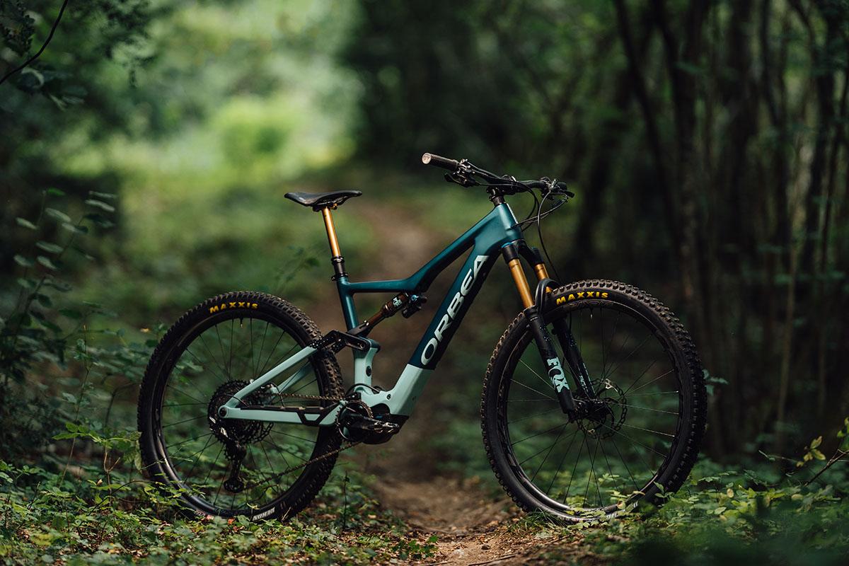 Nueva Orbea Rise, una e-Bike de Trail ligera y con el Shimano EP8