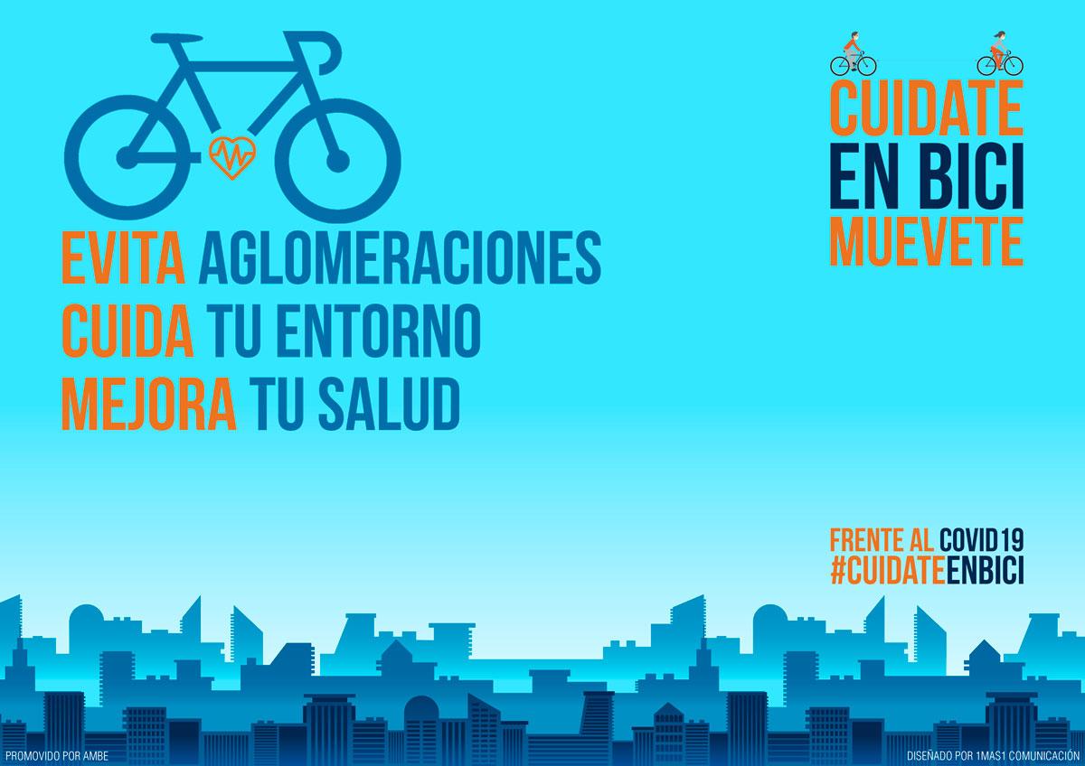 Es el momento de la bicicleta: Cuídate, Muévete en bici