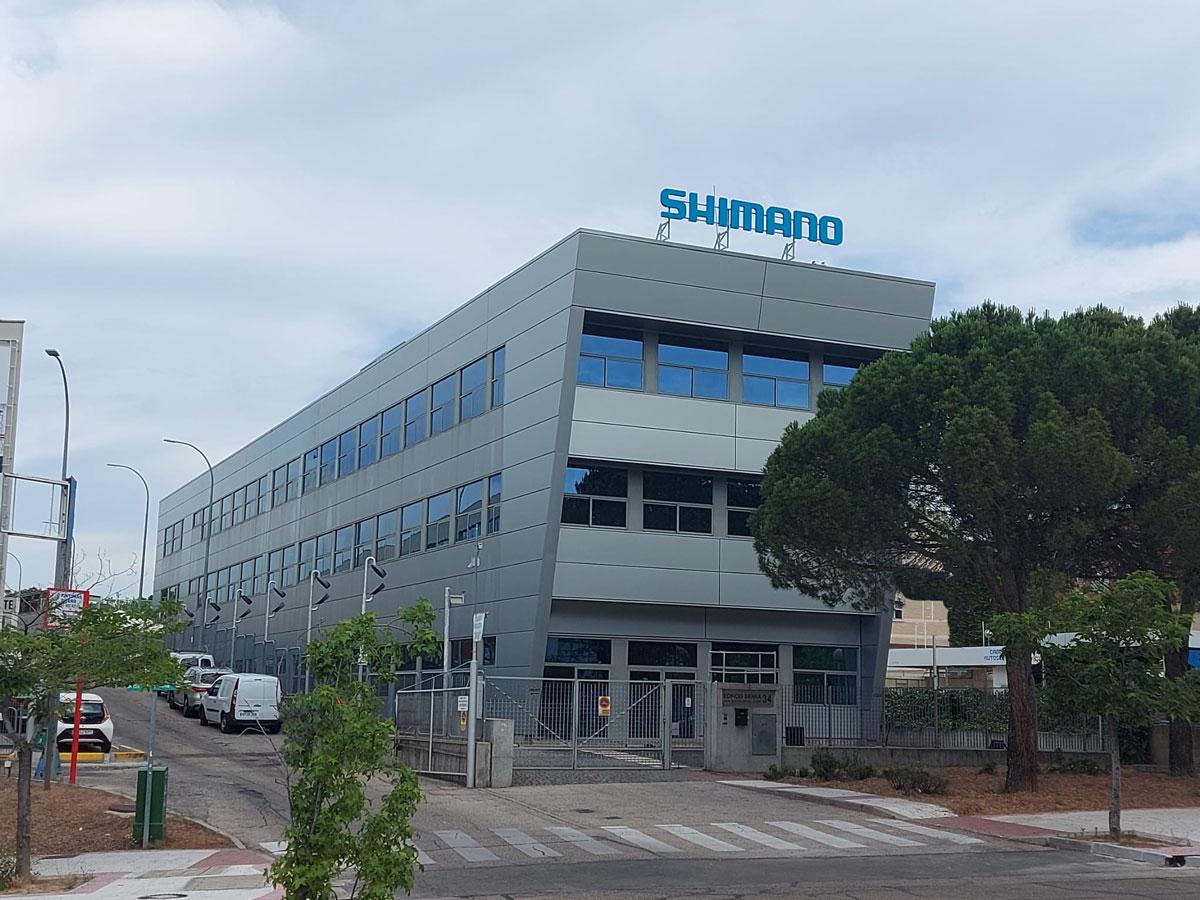 Oficinas de Shimano Iberia en Alcobendas