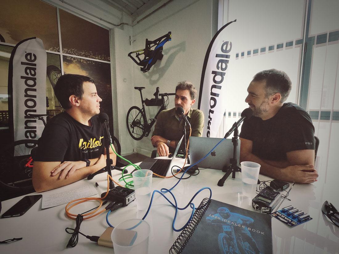 Segundo episodio del podcast: Trans-Nomad y frenos de disco en ciclismo de carretera